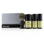 The Art Of Shaving The 4 Elements of the Perfect Shave Mid-Size Kit - Unscented (Pre-Shave Oil 30ml + Shaving Cream 45ml + After-Shave Balm 30ml + Brush)