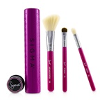 Sigma Beauty Essential Trio Brush Set - # Pink