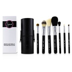 Sigma Beauty Make Me Classy Travel Kit Professional Brush Collection - # Black
