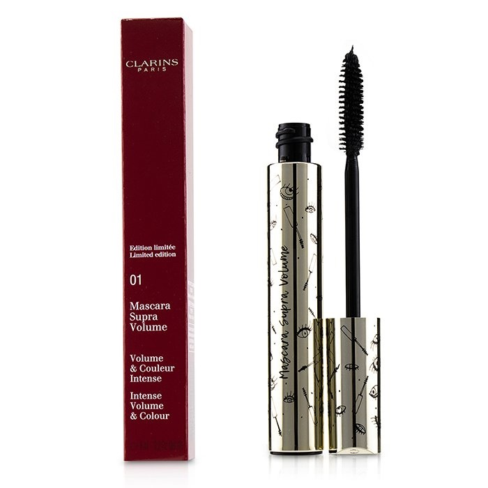 Clarins Supra Volume Mascara - # 01 Intense Black (Limited Edition)