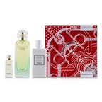 Hermes Un Jardin Sur Le Nil Coffret: EDT Spray 100ml/3.3oz + Moisturizing Body Lotion 80ml/2.7oz + EDT 7.5ml/0.25oz