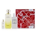 Hermes Le Jardin De Monsieur Li Coffret: EDT Spray 100ml/3.3oz + Moisturizing Body Lotion 80ml/2.7oz + EDT 7.5ml/0.25oz