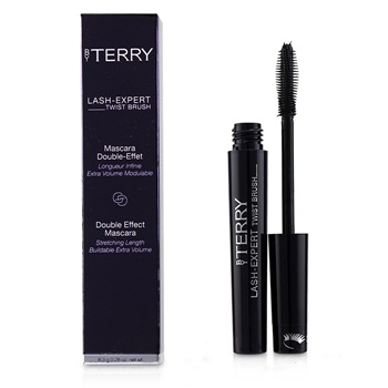 By Terry Lash Expert Twist Brush Double Effect Mascara - # 1 Master Black