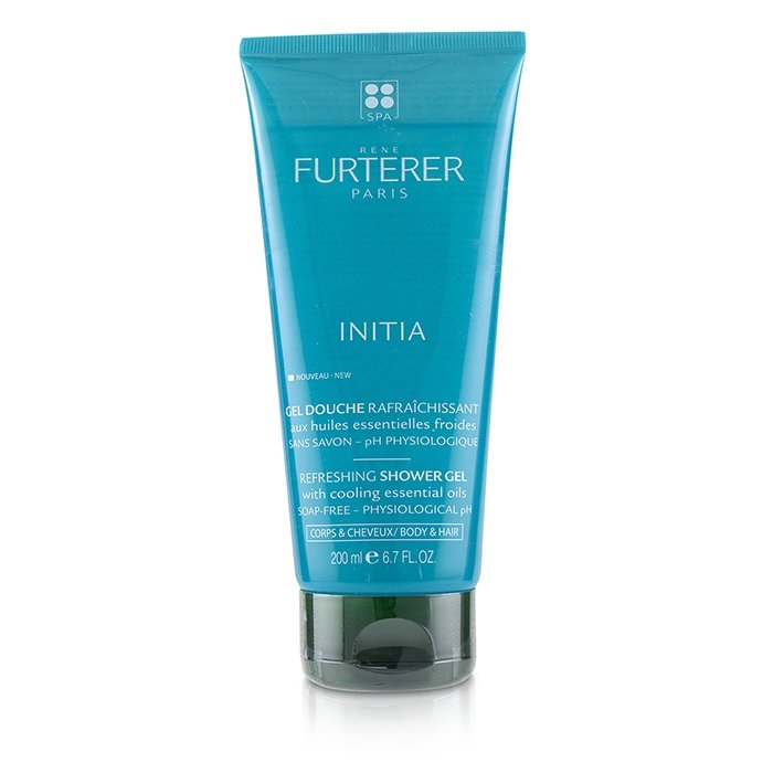 Rene Furterer Initia Refreshing Shower Gel - Soap-Free - Physiological pH (Body & Hair)
