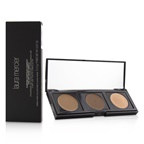 Laura Mercier Custom Contour Compact : (1x Highlight #1 , 1x Contour Deep #2, 1x Contour #1)