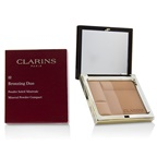 Clarins Bronzing Duo Mineral Powder Compact - # 02 Medium