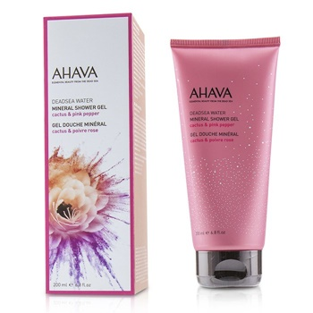 Ahava Deadsea Water Mineral Shower Gel - Cactus & Pink Pepper