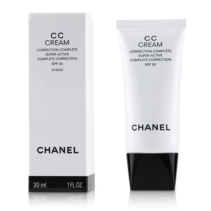 Chanel CC Cream Super Active Complete Correction SPF 50 # 30 Beige