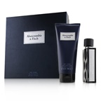 Abercrombie & Fitch First Instinct Blue Coffret: EDT Spray 50ml/1.7oz + Hair & Body Wash 200ml/6.7oz