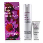 This Works Perfect Legs Instant Makeover Kit: Perfect Legs Skin Miracle Serum 120ml + Perfect Legs Sculpt & Shine 30ml