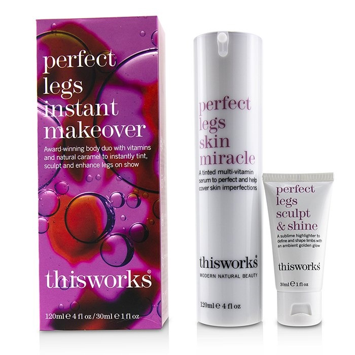 c4aff896d This Works Perfect Legs Instant Makeover Kit  Perfect Legs Skin Miracle  Serum 120ml + Perfect. Loading zoom