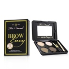 Too Faced Brow Envy Shaping & Defining Kit : (1x Setting Wax, 1x Highlighter, 2x Brow Powders, 1x Tweezer, 1x Angled Brush, 1x Spooley)
