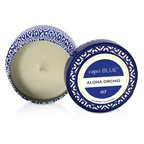 Capri Blue Printed Travel Tin Candle - Aloha Orchid