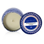 Capri Blue Printed Travel Tin Candle - Pomegranate Citrus