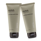 Ahava Time To Energize Foam-Free Shaving Cream (Travel Size) Duo Pack