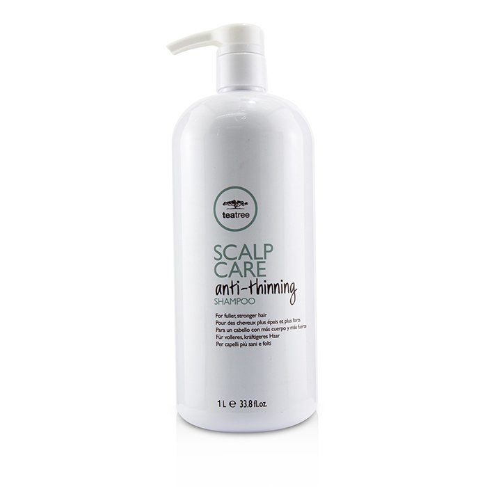 Paul Mitchell Tea Tree Scalp Care Anti-Thinning Shampoo (For Fuller, Stronger Hair)