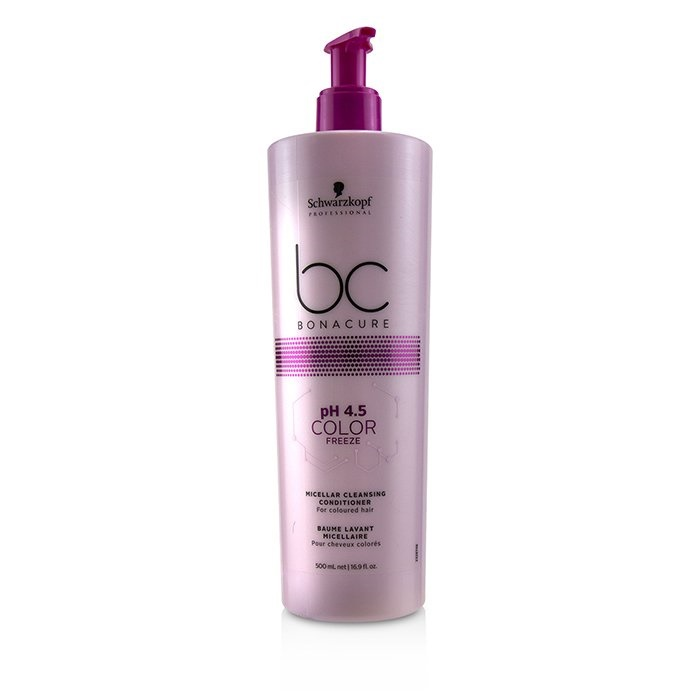 4ec9131923 Schwarzkopf BC Bonacure pH 4.5 Color Freeze Micellar Cleansing Conditioner  (For Coloured Hair). Loading zoom