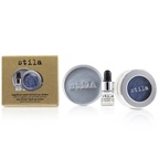 Stila Magnificent Metals Foil Finish Eye Shadow With Mini Stay All Day Liquid Eye Primer - Metallic Cobalt