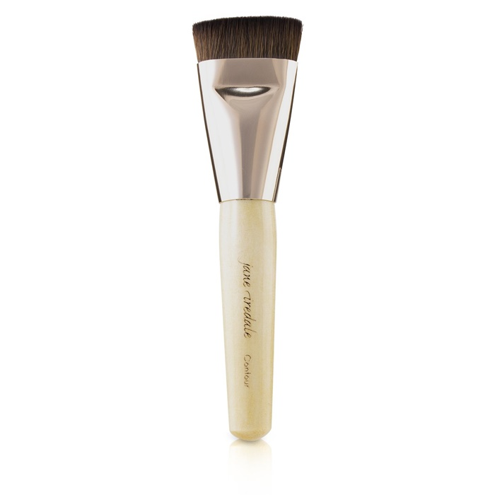 NEW-Jane-Iredale-Contour-Brush-Rose-Gold-Womens-Makeup