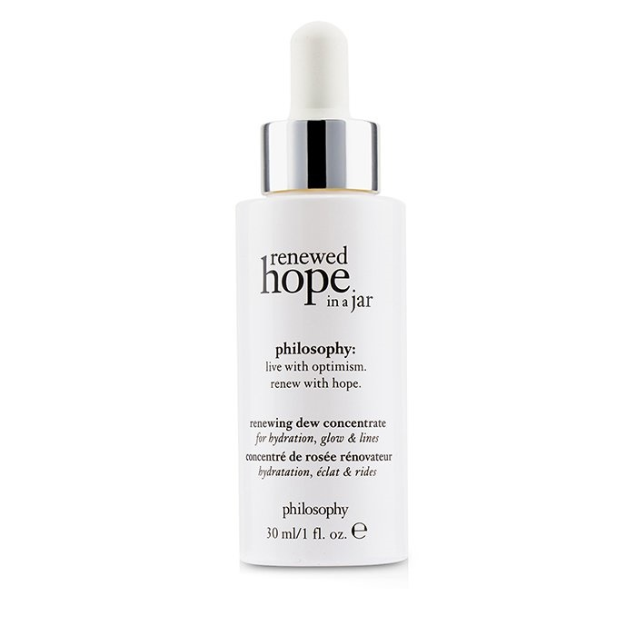 Philosophy Renewed Hope In A Jar Renewing Dew Concentrate - For Hydrating, Glow & Lines