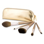 BareMinerals Plushest Touch 5 Piece Brush Collection (Unboxed)