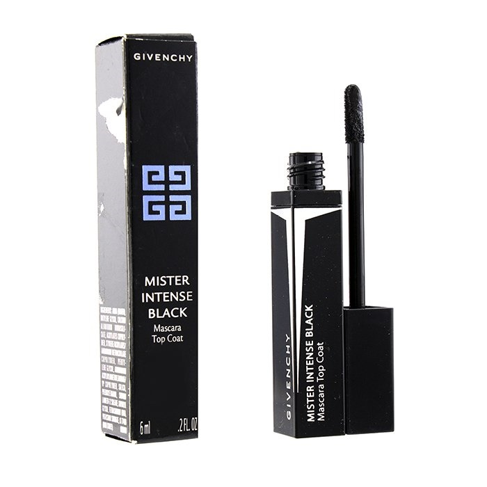 Givenchy Mister Intense Black Mascara Top Coat - # 1 Black Vinyl (Box Slightly Damaged)