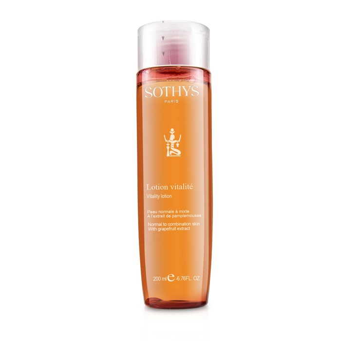 Sothys Vitality Lotion - For Normal to Combination Skin , With Grapefruit Extract