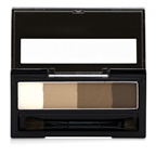 KISS ME Heavy Rotation Waterproof Powder Eyebrow And 3D Nose - # 02 Natural Brown