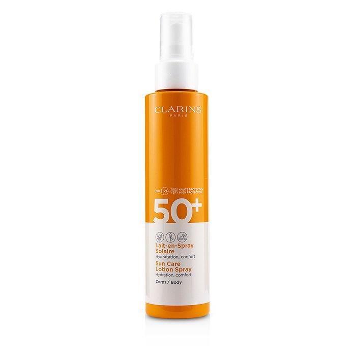 Flot Clarins Sun Care Body Lotion Spray SPF 50   The Beauty Club CP-35