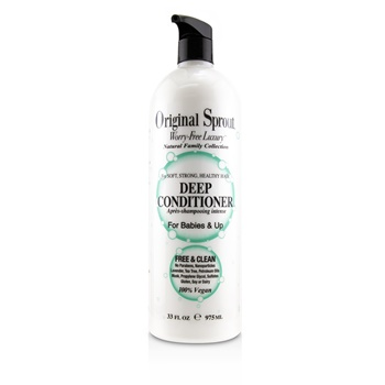 Original Sprout Natural Family Collection Deep Conditioner (For Babies & Up - Soft, Strong, Healthy Hair)