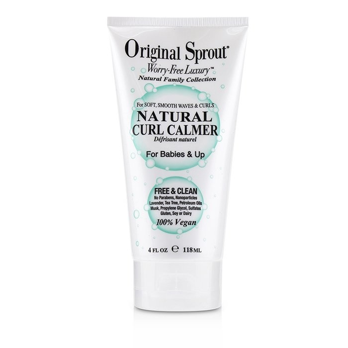 Original Sprout Natural Family Collection Natural Curl Calmer (For Babies & Up - Soft, Smooth Waves & Curls)