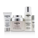 Carita Paris Back In Time Anti-Age Coffret: Firming Cream 50ml + Cleansing Milky Emulsion 50ml + Radiance Mask 15ml + Replumping Serum 2ml