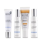 Neova Clinical Recovery Post Procedure Cure System: Cu3 Gentle Cleanser 100ml + Cu3 Tissue Repair + 56g + Cu3 Recovery Spray 100ml + Silc Sheer 2.0 Photo Finish Tint SPF 40 74ml + bag