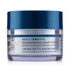 Lavera Basis Sensitiv Regenerating Night Cream - Organic Aloe Vera & Organic Almond Oil (For All Skin Types)
