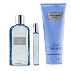 Abercrombie & Fitch First Instinct Blue Coffret: EDP Spray 100ml/3.4oz + Body Lotion 200ml/6.7oz + EDP Spray 15ml/0.5oz