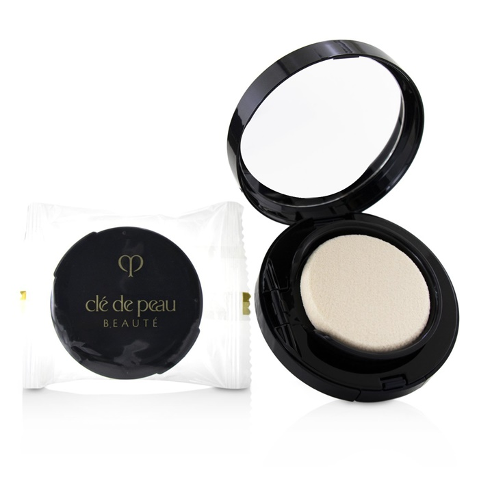 Cle De Peau Radiant Cream To Powder Foundation SPF 25 - # B10 (Very Light Beige)