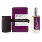Atelier Cologne Rose Anonyme Coffret: Cologne Absolue Spray 30ml/1oz + Soap 200g/7.05oz + Leather Case (Box Slightly Damaged)