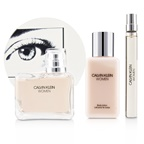 Calvin Klein Women Coffret: EDP Spray 100ml/3.4oz + Body Lotion 100ml/3.4oz + EDP Spray 10ml/0.33oz