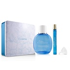 Clarins Eau Ressourcante Coffret: Fragrance Spray 100ml/3.3oz + Refillable Spray 10ml/0.3oz + Metal Box