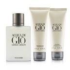 Giorgio Armani Acqua Di Gio Coffret: EDT Spray 100ml/3.4oz + All Over Bod Shampoo 75ml/2.5oz + After Shave Balm 75ml/2.5oz
