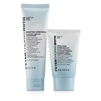 Peter Thomas Roth Hyaluronic Happy Hour 2-Piece Kit: 1x Cleanser 30ml + 1x Moisturizer 20ml
