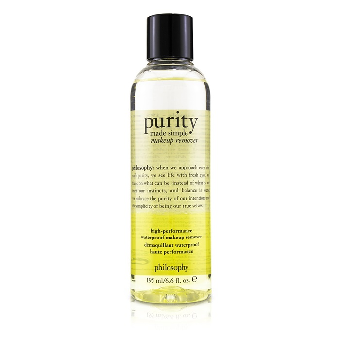 Philosophy Purity Made Simple High-Performace Waterproof Makeup Remover