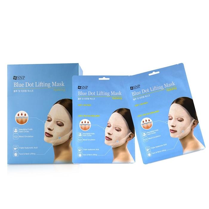 Hydrating Blue Dot Lifting Sheet Mask by snp #3