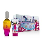 Escada Miami Blossom Coffret: EDT Spray 50ml/1.6oz + Body Lotion 50ml/1.6oz + 1 Clutch Bag