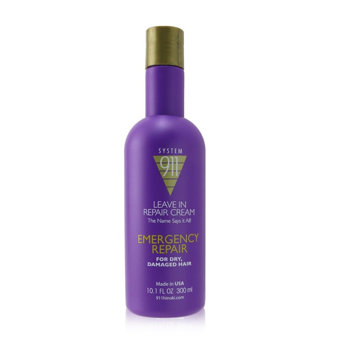 Hayashi 911 Leave In Repair Cream (For Dry, Damaged Hair)