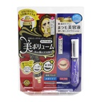 KISS ME Heroine Make SP Heroine Make Volume Control Mascara & Watering Eyelash Serum Set - # 01 Black