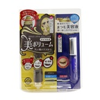 KISS ME Heroine Make SP Heroine Make Volume Control Mascara & Watering Eyelash Serum Set - # 02 Brown