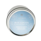 Thymes Aromatic Candle (Travel Tin) - Hot Cocoa Peppermint