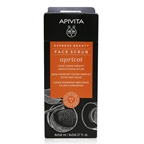 Apivita Express Beauty Face Scrub with Apricot (Gentle Exfoliation) - Box Slightly Damaged)