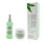 Mario Badescu Cucumber Mask & Mist Duo Set: Facial Spray With Aloe, Cucumber And Green Tea 4oz + Cucumber Tonic Mask 2oz